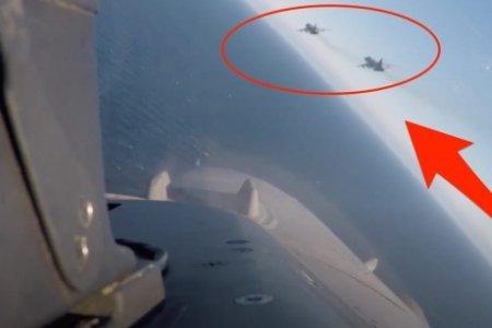 Qlobal fəlakət fonunda NATO və Rusiya qırıcılarının Baltik üzərində savaşı - VİDEO